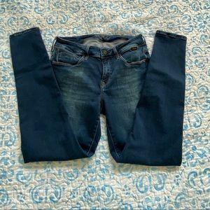 Mavi Gold Alexa Ankle Mid-rise Skinny Jean